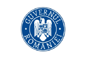 Logo of the Romanian government.